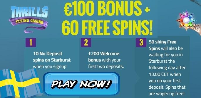 svenska casino bonus utan ins ttning
